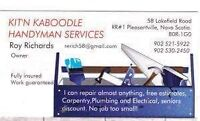 Kit'n Kaboodle Handyman and Contracting Services