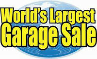 Workers needed for World's Largest Garage Sale at Moncton Colis
