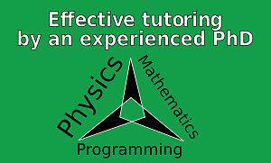Summer tutoring by a PhD -- math, physics, programming, $30/hr Edmonton Edmonton Area image 1