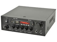 Stereo Amplifier with Bluetooth and Media Player- 2x35W RMS (NEW)