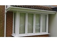 UPVC double glazed windows and door. Full house set in white in very good condition
