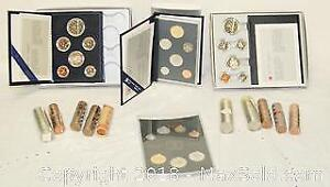 Royal Canadian Mint Sets & Rolled Coinage