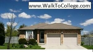 House for rent to group of 5.Walk to Fanshawe College.All Inclus