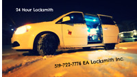 24 Locksmith - EA Locksmith Inc. 519-722-7776