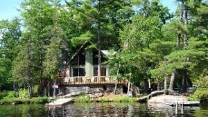 Wow!  $50,000. reduction on Stoney Lake Island Cottage