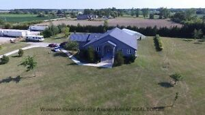 Impressive home for sale - Over 3 acres of land
