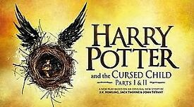 2x Harry Potter & the cursed child tickets (parts 1&2) 14th July - GRAND CIRCLE