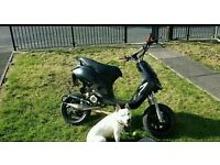 Piaggio zip rs rare one off