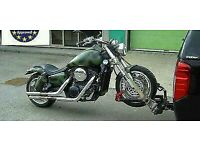 Motorcycle carrier / trailer / dolly