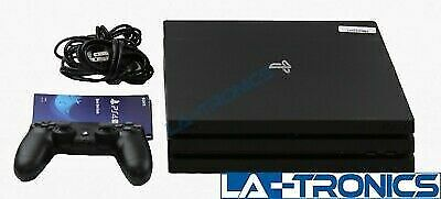 Sony Playstation 4 Pro PS4 1TB 4K Gaming Console CUH-7215B - Jet Black