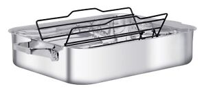 ZWILLING J.A.HENCKELS Truclad 41cm 16 Inch Roaster with Rack