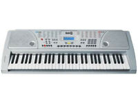 RockJam Digital Keyboard with 56 Standard Touch Keys USED (No Packaging Box)