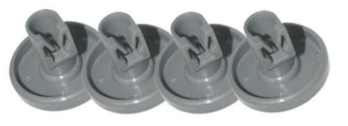 Tricity bendix DW120 tbdw 41 CDW087 lave-vaisselle supérieur panier roues 8PK