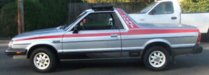 WANTED SUBARU BRAT PARTS 1985