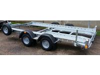 "Car Transporter Trailer - 12' X 6'1"" - Woodford LWT 072"
