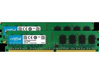 Crucial 4gb kit DDR2 Brand new