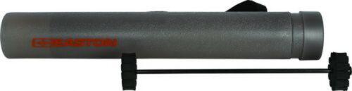 New Easton Arrow Tube Travel Tote - Smoke Grey with Arrow Holder