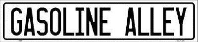Gasoline Alley Aluminum Metal Novelty Street Sign