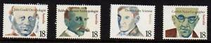 Australian Stamps 1976 Famous Australians MUH Coffin Bay Lower Eyre Peninsula Preview