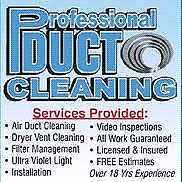 Lowest Price For Whole House Duct cleaning $125