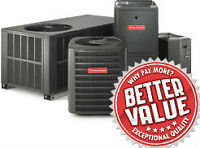 Heating & Air Conditioning-  FURNACES & GARAGE HEATERS ON SALE