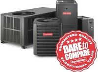 Furnace, central air, tankless, gas lines and more