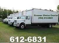 5 TON COURIER SERVICE PROVIDED TO PORTAGE, BRANDON & WPG WEEKLY