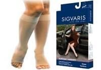Open Toe Compression Stockings Brand New