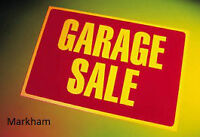 June 6 Enormous Markham Street Garage Sale -Sir Gawaine Place