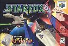 Star Fox 64 Nintendo 64 Video Games