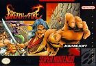 Nintendo Breath of Fire Video Games