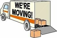 2 movers and 8x16ft truck (fully equipped)- $75/hr.