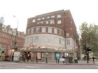 Euston. Bright 2 bedroom flat just above Warren Street station. Bills included