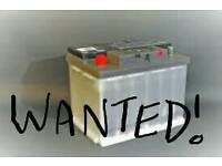 Car battery wanted for petrol car