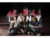 2x Standing tickets LANY London 29/09 (front stage/stalls)