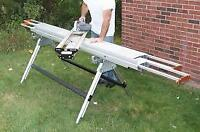 ProTrax table de coupe pour aluminium / multi-angle saw table