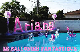 Ballon fete services d 39 v nement et divertissement dans for Decoration autour de la piscine