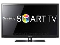 "37"" SAMSUNG LED SMART TV FREEVIEW HD USB GREAT WORKING CAN DELIVER BARGAIN"