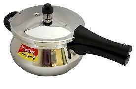 Prestige Deluxe Stainless Steel Jr. Pressure Cooker PRESTIGE-SS-HAND