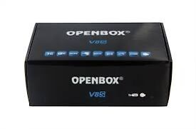 Openbox V8s New & Boxed With Gift