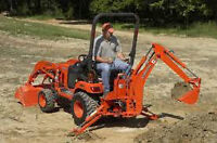 Kubota For Rent/Hire With or Without  Operator