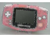 NINTENDO GAMEBOY ADVANCED INPINK