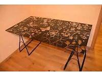 Ikea glass table top / desk top