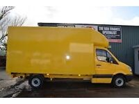 Luton Van With Tail Lift Facilities (Man And Van Cheaper Removal Services) 24/7 All London/Outside