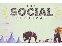 2 x Social Festival Tickets Friday - £10 for both