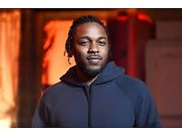 Kendrick Lamar Tickets / Standing & Seated / O2 Arena, London / 12th 13th February