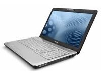 TOSHIBA SATELLITE L500 - 500GB HDD - WINDOWS 7 HOME PREMIUM