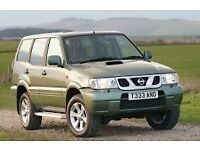 wanted nissan terrano 3.0 diesel or ford maveric