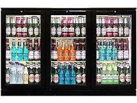 Beer Cater Cool Triple Hinged Door Bottle Cooler CK0503 Aluminium Interior