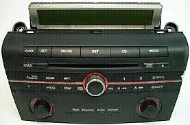 Factory Mazda 3 radio and speakers